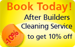 after builders cleaning offer